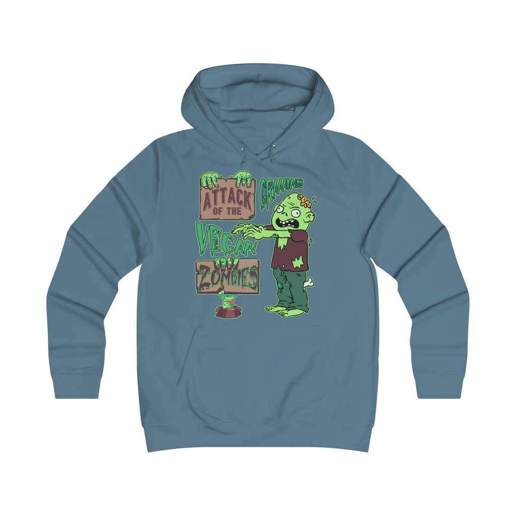 Attack of the Vegan Zombies - Hoodie - My Vegan Menu