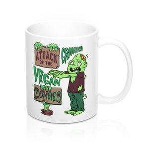 Attack of the Vegan Zombies - Mug - My Vegan Menu