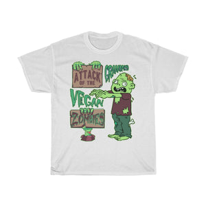 Attack of the Vegan Zombies - Unisex T-Shirt - My Vegan Menu