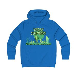 Vegan Zombies, We Are After Your Grains - Hoodie - My Vegan Menu