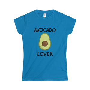 Avocado Lover - Slim Fit T-Shirt - My Vegan Menu
