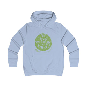 You Had Me At Vegan - Hoodie - My Vegan Menu