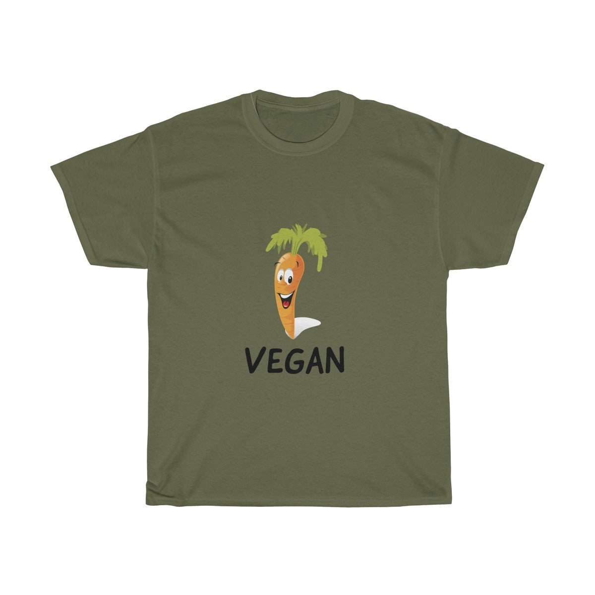 Vegan Carrot - Unisex T-Shirt - My Vegan Menu