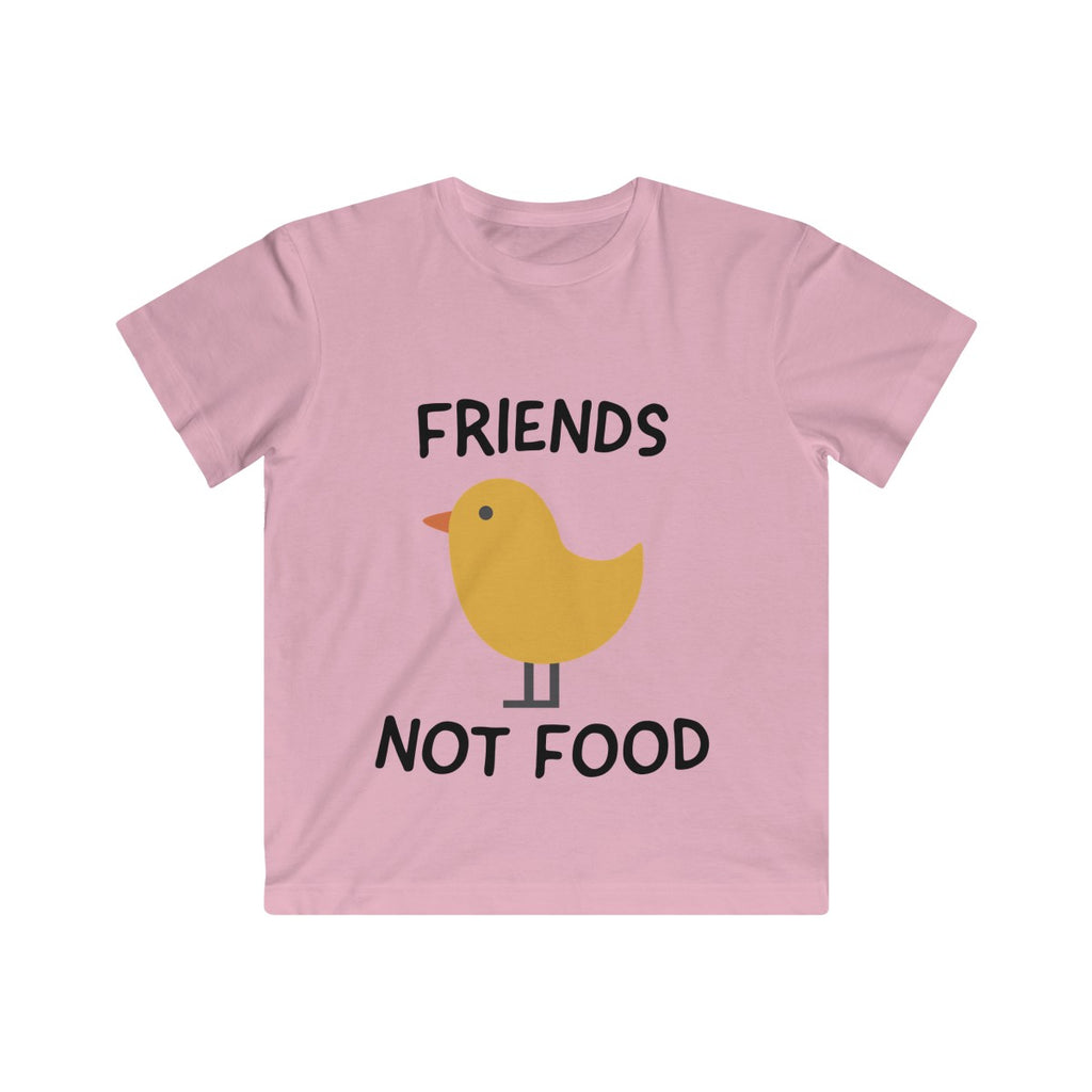 Friends Not Food (chick) - T-Shirt - My Vegan Menu