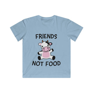 Friends Not Food (cow) - T-Shirt - My Vegan Menu