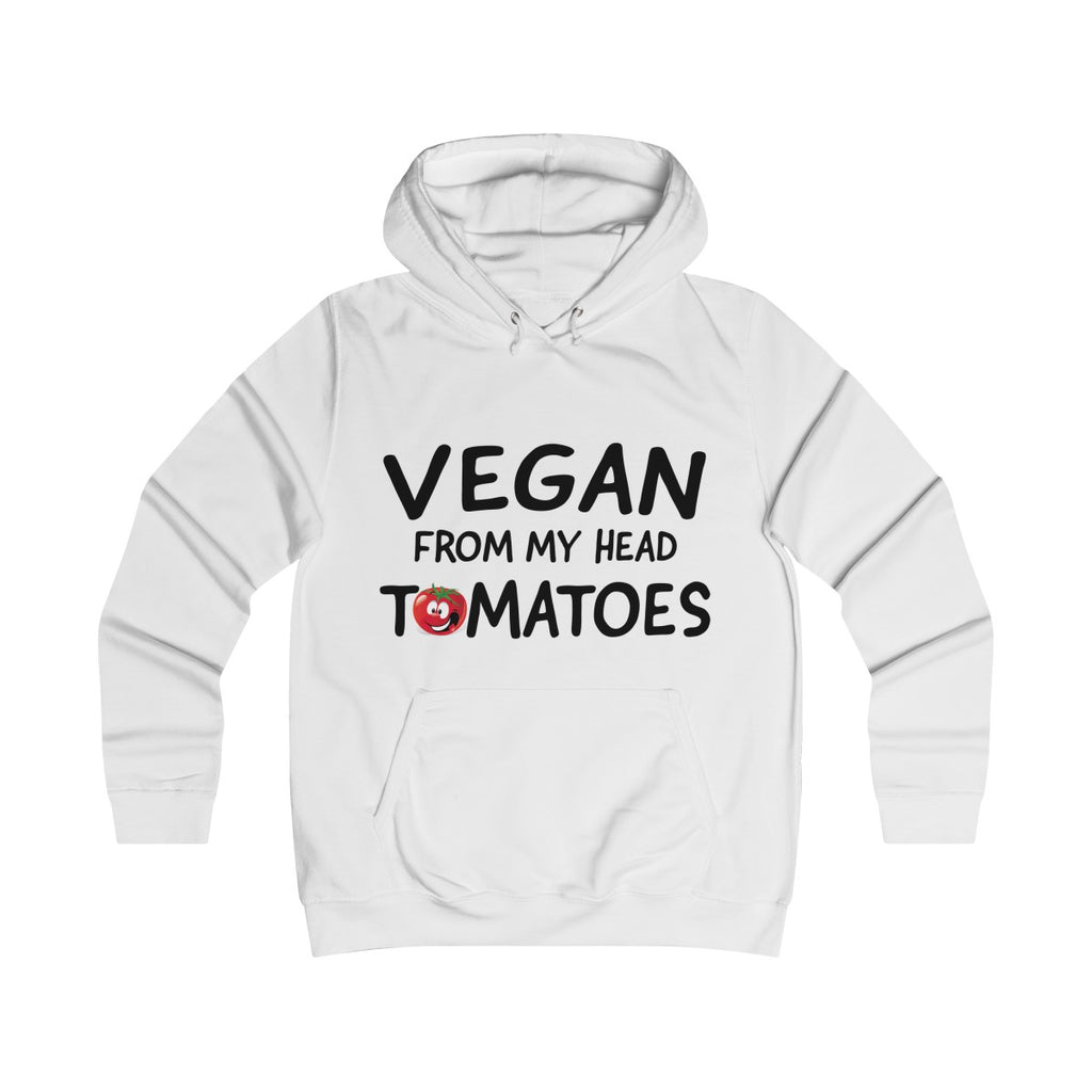 Vegan from my head tomatoes - Hoodie - My Vegan Menu