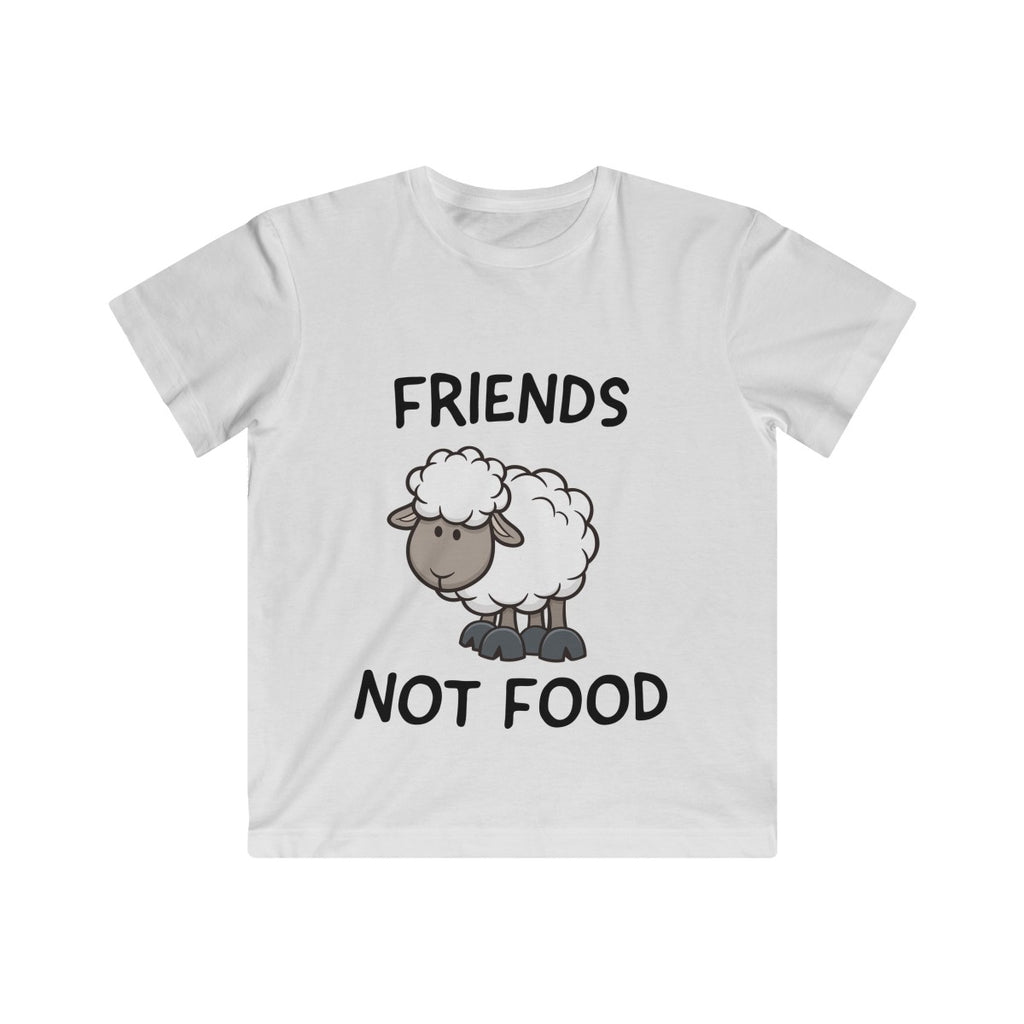 Friends Not Food (sheep) - T-Shirt - My Vegan Menu