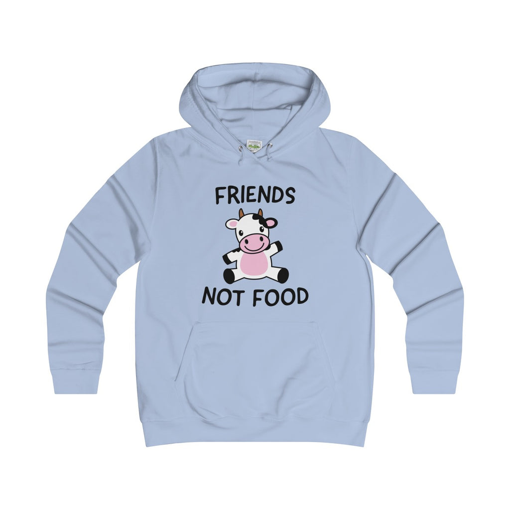 Friends Not Food (cow) - Hoodie - My Vegan Menu