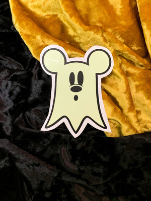 GHOSTIE MOUSE—GLOW IN THE DARK
