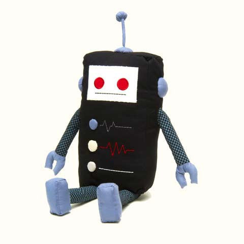 Kiefer - KAUZBOTS® | Stuffed Plush Robots with a Heart