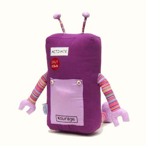 Kourage - KAUZBOTS® | Stuffed Plush Robots with a Heart