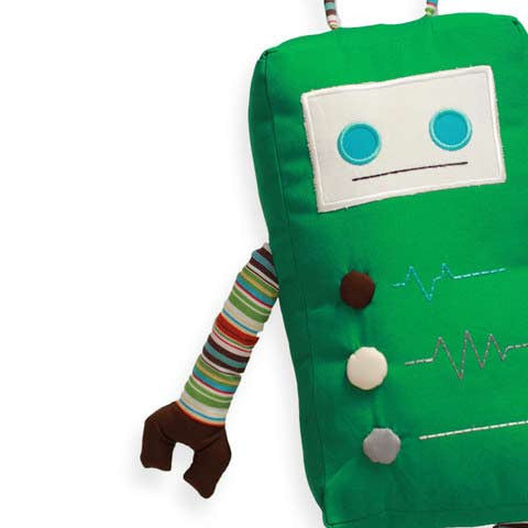 Kale - KAUZBOTS® | Stuffed Plush Robots with a Heart