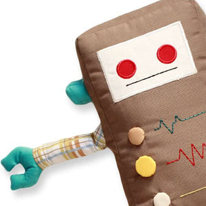 Kalvin - KAUZBOTS® | Stuffed Plush Robots with a Heart