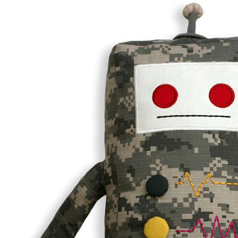 Kamo - Coming Soon - KAUZBOTS® | Stuffed Plush Robots with a Heart