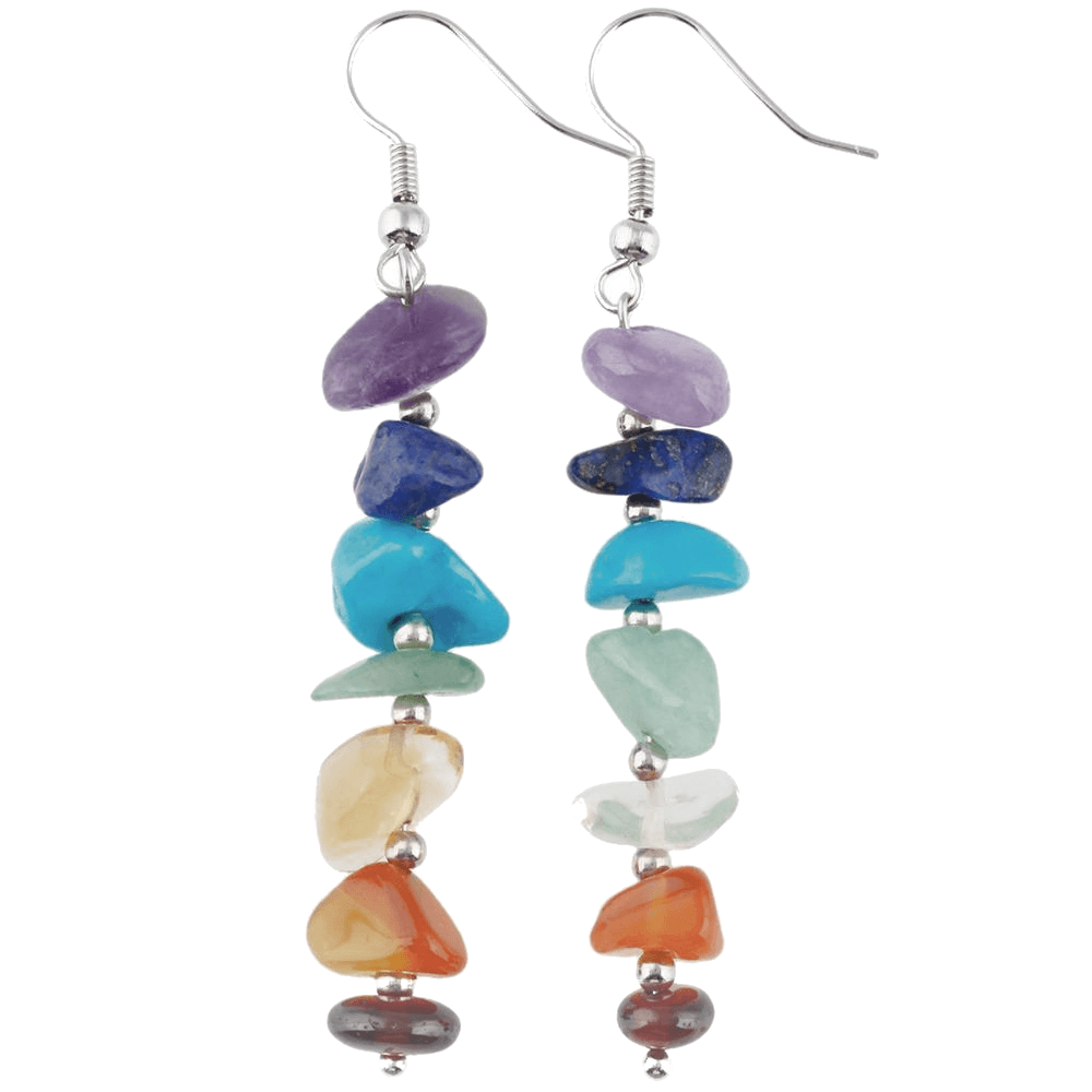 Chakra Stones Earrings