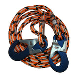 1/2in Teufelberger Safety Blue Positioning Lanyard W / Aluminum Snaps