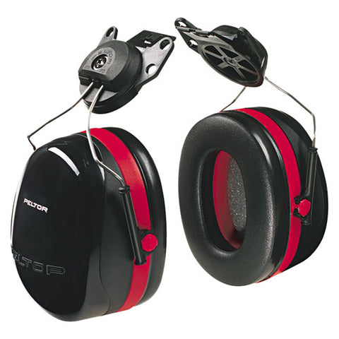 3M Peltor Optime 105 Cap-Mount Ear Muffs - NRR 27 dB - #H10P3E