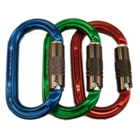 DMM Ultra O Multi-Color Pack carabiners
