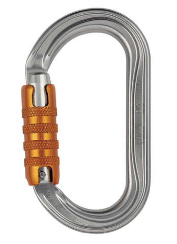 OK Oval Aluminum Triact Carabiner by PETZL