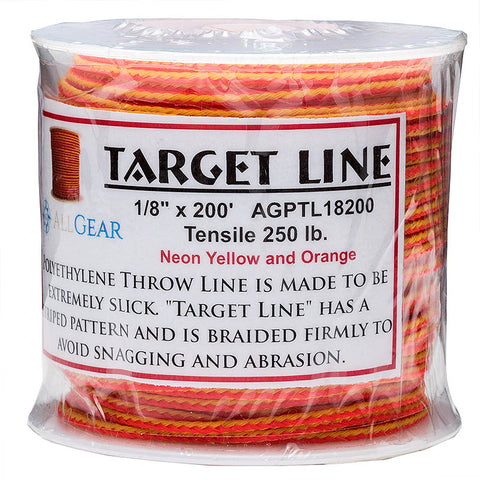 All Gear Target Throw Line 1/8in