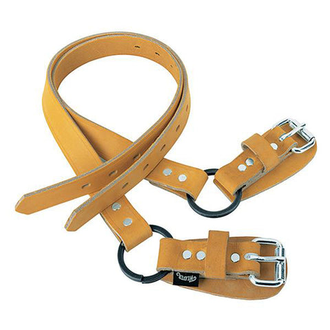 Weaver Lower Climber Straps/ 26in Leather Split Ring