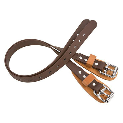Weaver Upper Climber Straps Rubber Belting 28in