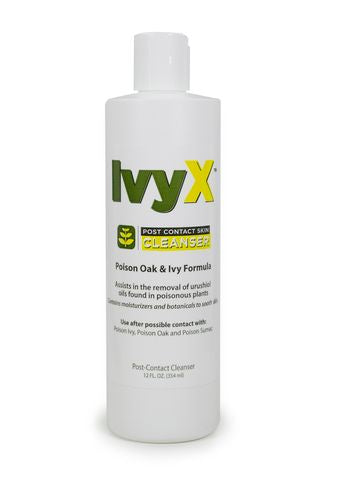 Ivy X™ Post-Contact Skin Cleansing Lotion