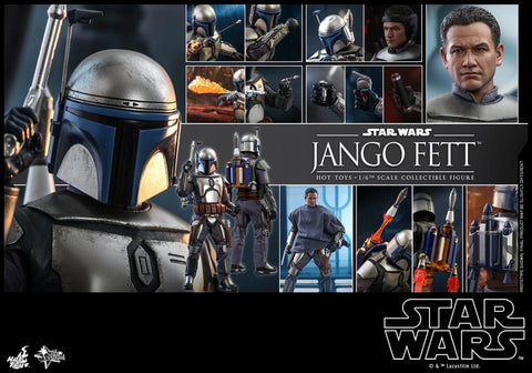 Hot Toys MMS589 Star Wars Episode 2: Attack of The Clones - Jango Fett
