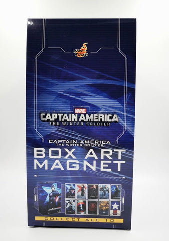 Last Set: Hot Toys - PMGA007N Captain America: The Winter Soldier Box Art Magnet (Set of 10 pcs)