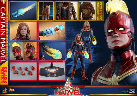 Hot Toys - MMS522 Captain Marvel (Deluxe Version)