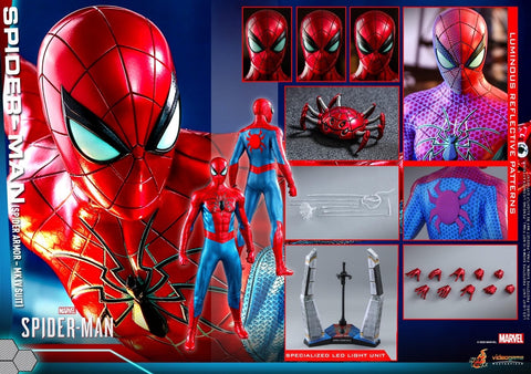 Hot Toys - VGM43 Marvel's Spiderman: Spiderman (Spider Armor MK IV Suit)