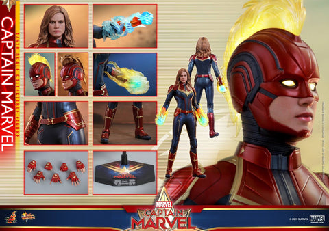 Hot Toys - MMS521 Captain Marvel (Normal Version)