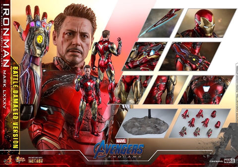 Hot Toys - MMS543D33 Avengers: Endgame - Iron Man Mark 85 LXXXV (Battle Damaged Version) Normal Edition