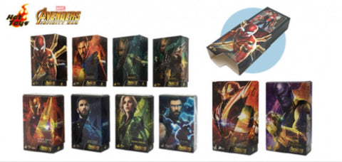 Hot Toys - PMAG004N - Avengers: Infinity War Box Art Magnet (Set of 10 Pcs)