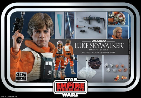 Hot Toys - MMS585 Star Wars: Episode V The Empire Strikes Back - Luke Skywalker Snowspeeder Pilot (Star Wars: The Empire Strikes Back 40th Anniversary Collection)