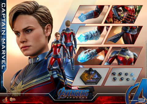 Hot Toys - MMS575 Avengers Endgame: Captain Marvel