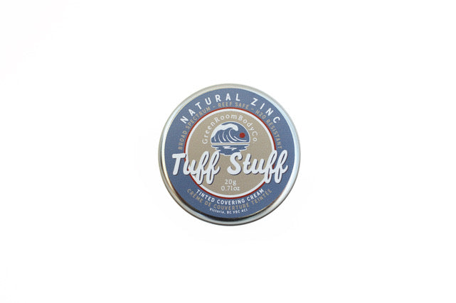 TUFF STUFF NATURAL ZINC COVERING CREAM | CRÈME ZINC NATURELLE DE COUVERTURE TEINTÉE