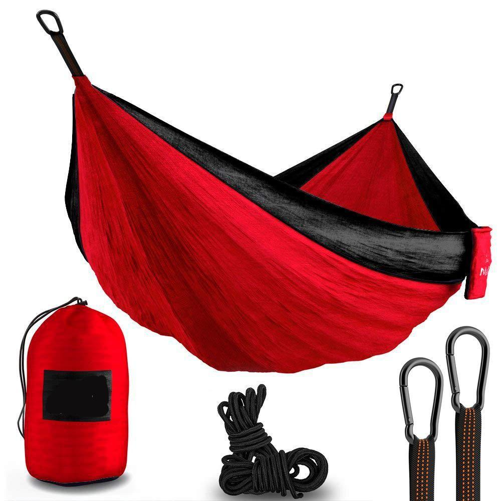Bringing you the MalloMe XL Double Camping Hammock that lets you float effortlessly in the air