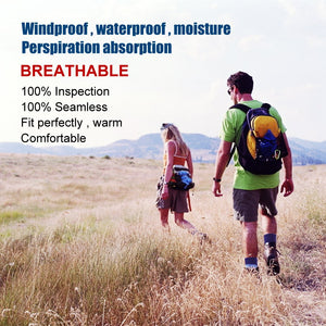 100%  breathable and waterproof socks will keep your feet cool and dry all day long during walking