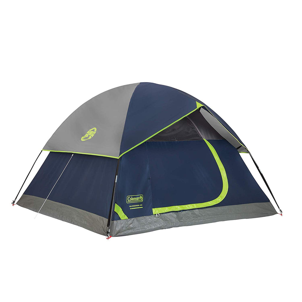 The Sundome 4 Person Dome Tent Features upto 33% more water resistant verses a comparable standard