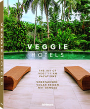 Load image into Gallery viewer, Veggie Hotels Coffee Table Book