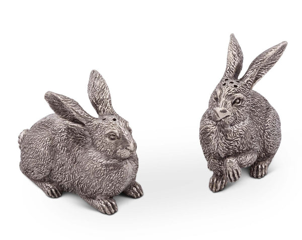 Hare Salt and Pepper Shakers