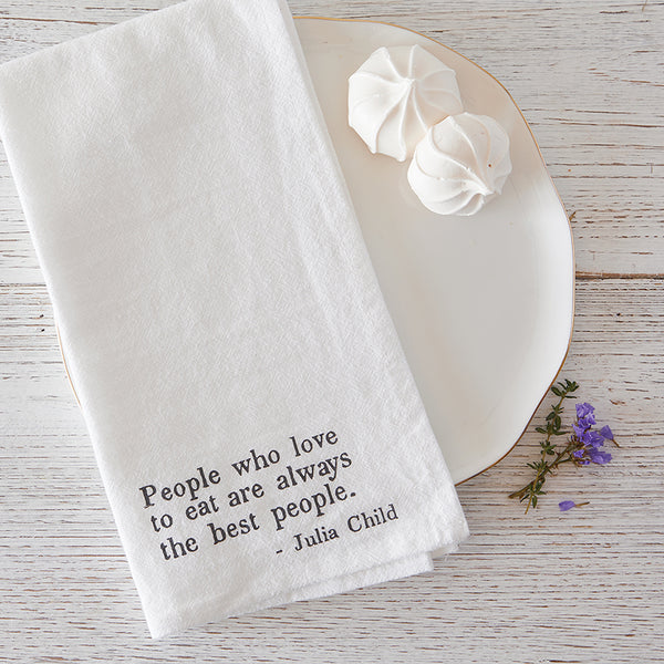 Julia Childs Quote Napkins