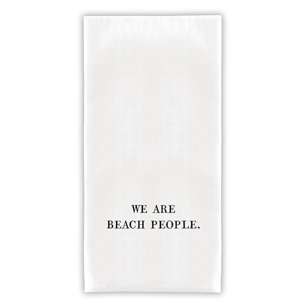 We Are Beach People Towel