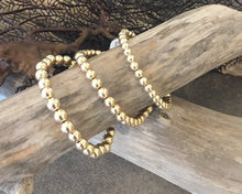 Load image into Gallery viewer, Classic Gold Bead Bracelet