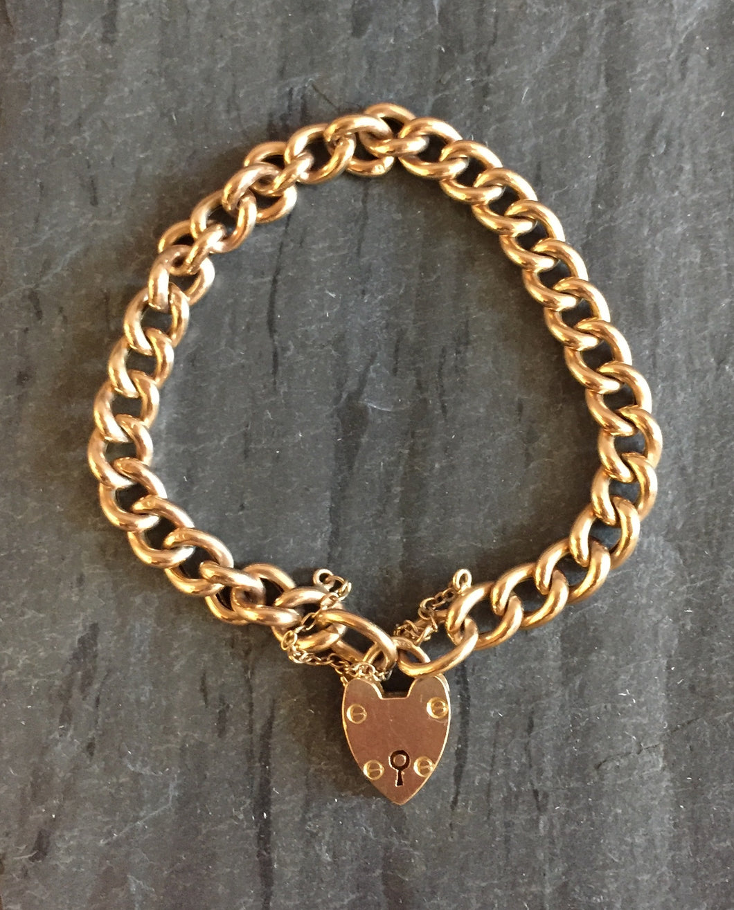 Antique Charm Link Bracelet