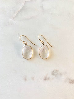 Strawberry Quartz Drop Earring