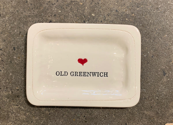 """Love"" Old Greenwich Dish"