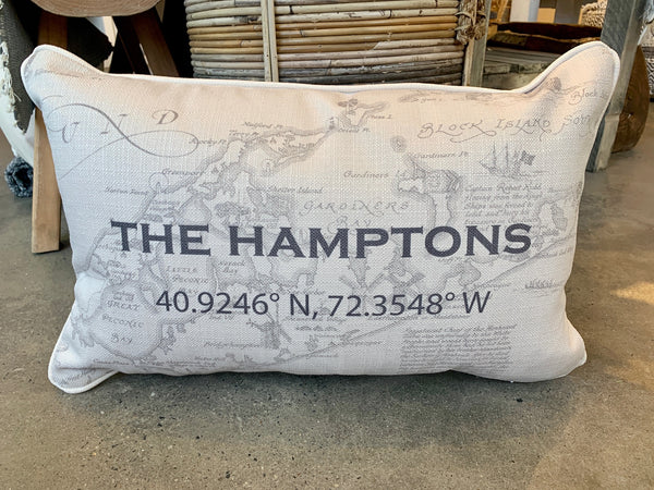 Hamptons Coordinate Pillow