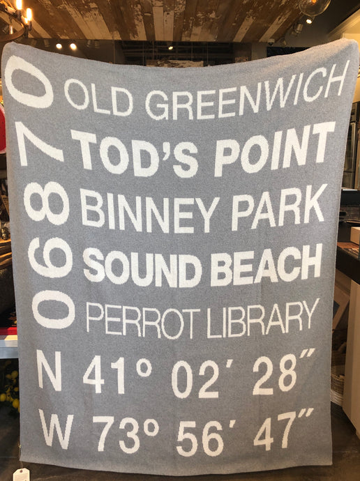 Old Greenwich Eco-Friendly Blanket
